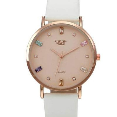 Milano Vegan Leather Band Watch