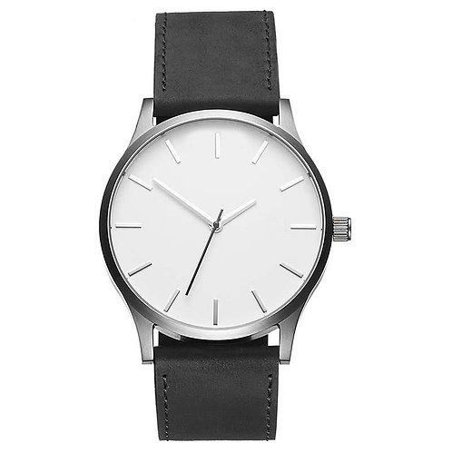 Dial Sport Style Matte Belt Quartz Men's Watch