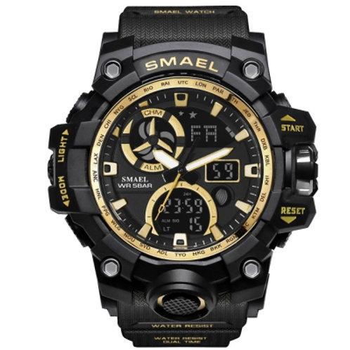 Digital Backlight Alarm Military LED Wristwatch