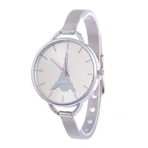 Fashion Ultra-fine Steel Mesh Belt Watch