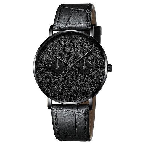 Men's Color Pointer Belt Watch