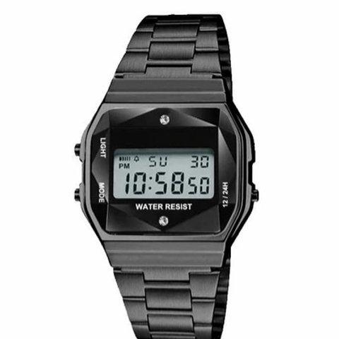 33MM Retro LCD Men's Watch
