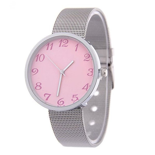 Simple Face Ultra-thin Ladies Watch