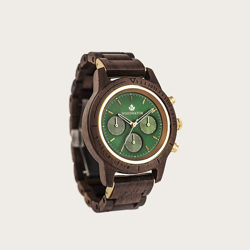 Emerald Gold Men's Watch
