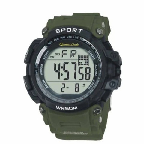 53MM Montres Carlo 5ATM Digital Watch