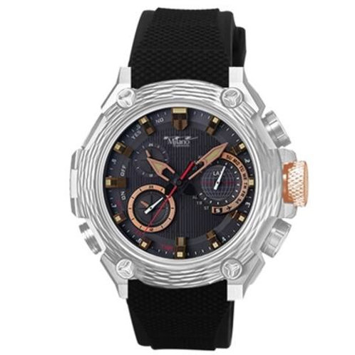 Milano Rubber Strap Watch
