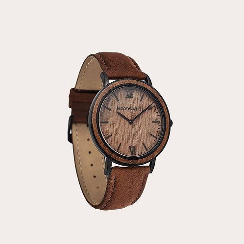 Brown Walnut Men's Watch