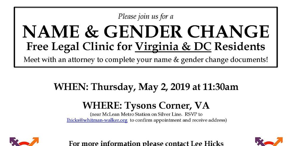 Name Change Clinic