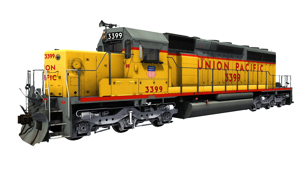 JointedRail - EMD SD40-2 - Union Pacifc Early