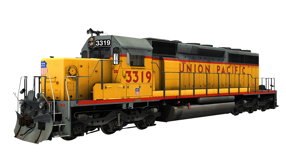 JointedRail - EMD SD40-2 Snoot - Union Pacifc