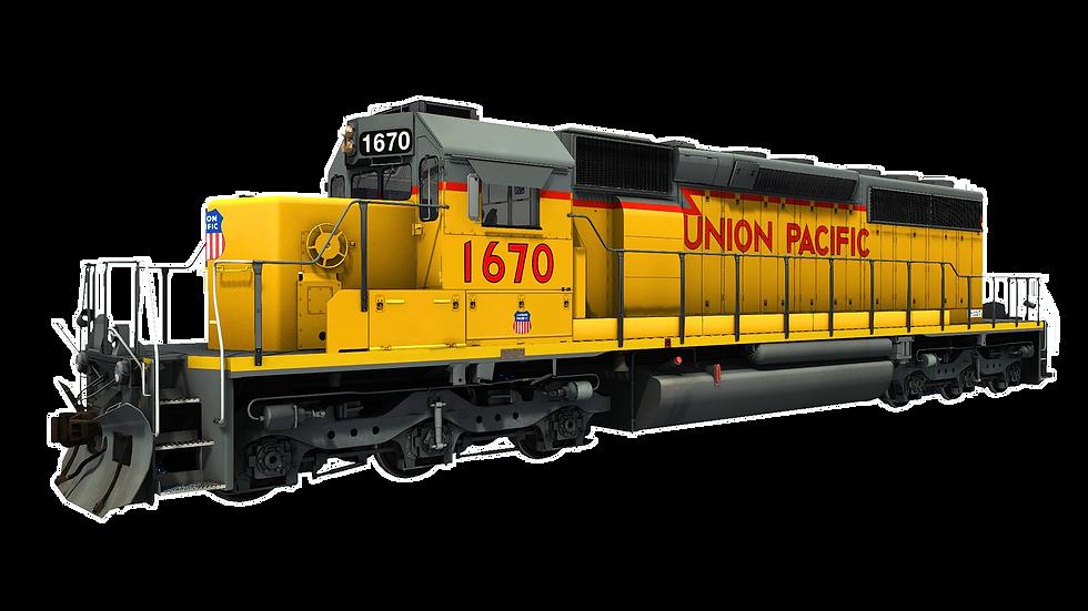 JointedRail - EMD SD40N - Union Pacifc