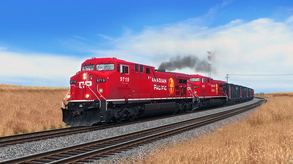 AC4400 - CANADIAN PACIFIC - BASE PACKAGE