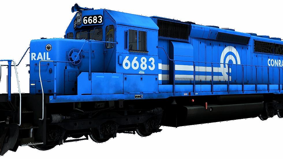 JointedRail - EMD SD40-2 Conrail