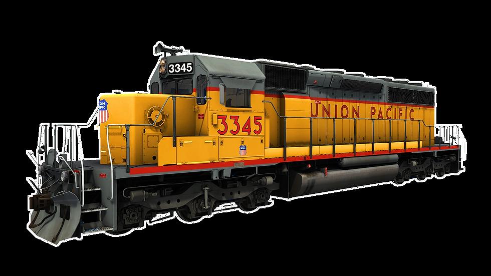 JointedRail - EMD SD40-2 - Union Pacifc