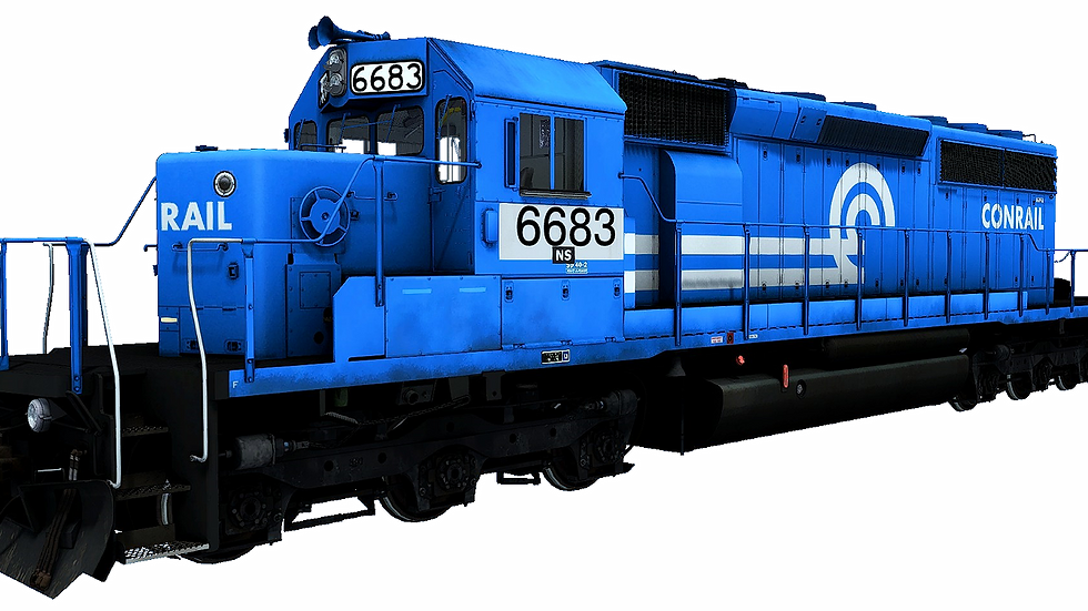 JointedRail - EMD SD40-2 Conrail Patched