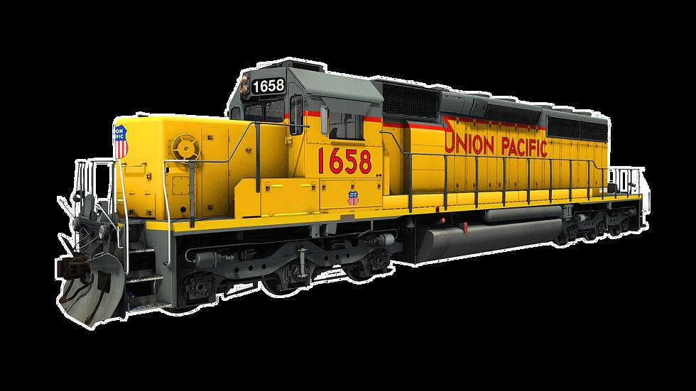 JointedRail - EMD SD40N Snoot - Union Pacifc