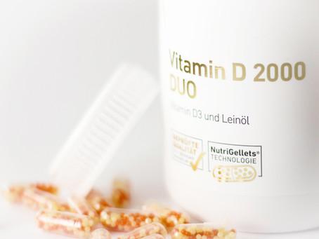 Vitamin D - für Knochen und Energie, das schadet nie!