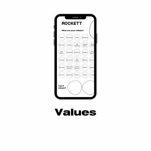 Start - values