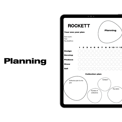 'Planning' pack