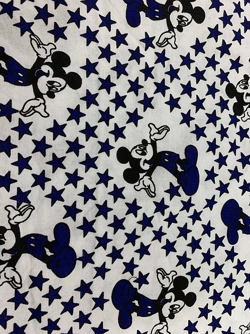 Micky mouse white and blue
