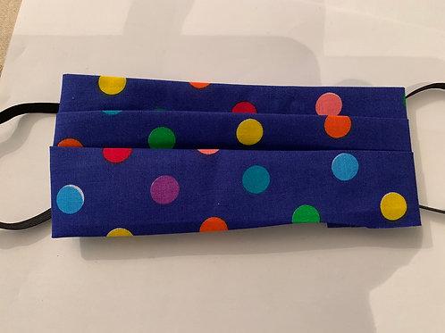 3-Ply Multicolour Polka