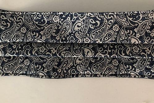 Dark blue and white pattern