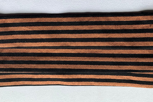 Black with Rustic strip