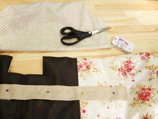 Projectos novos em tecidos plastificados e napa!