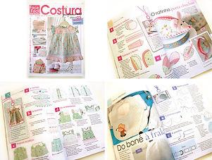 Luísa Martins Ilustradora revista Costura Profissional