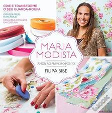 Maria Modista livro ilustração escola de costura Luísa Martins