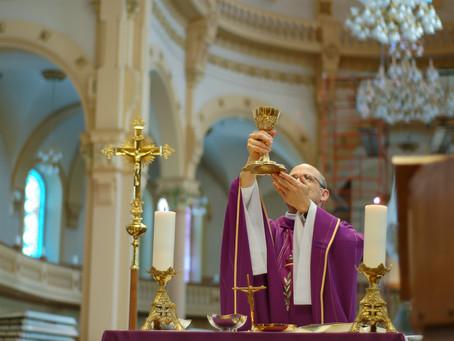 Célébrations eucharistiques dominicales. Inscription pour les prochains dimanches.