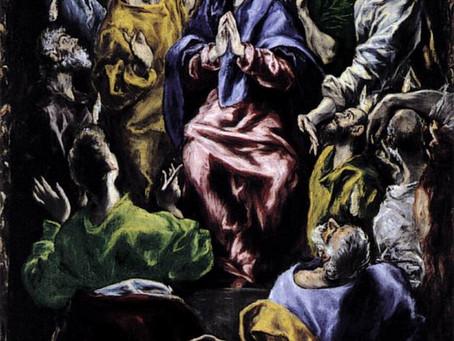 Messe de la Pentecôte sur Zoom. Paroisse Ste-Thérèse-d'Avila - Dim. 31 mai 2020.