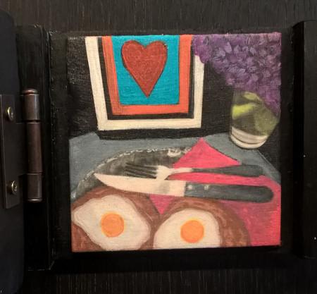 """Sunday Breakfast"" By Artist Carolyn White"