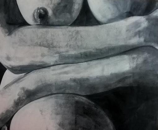 """My Shell"" By Artist Carolyn White"