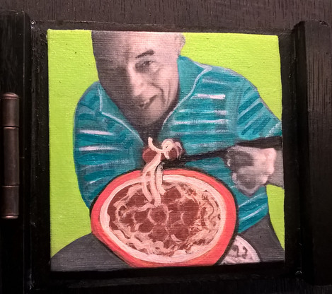 """""""Pete's Famous Pasta"""" By Artist Carolyn White"""
