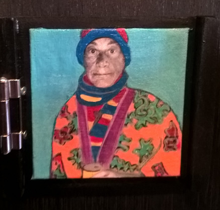 """Beer O' Clock"" By Artist Carolyn White"