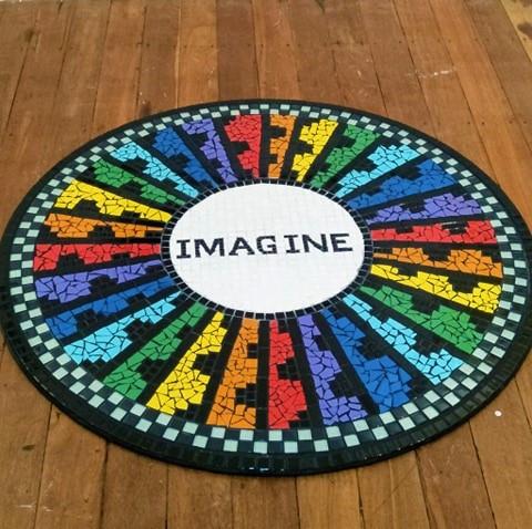 Imagine, in colour
