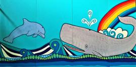 section 2 Graylands mural Mandala sunshi