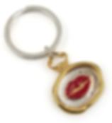 KISS Wax Seal Key Chain