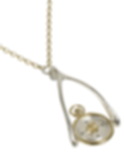 Pivoting Compass Wax Seal Wishbone