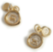 19th c Mini Seal Chain Cufflinks