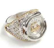 Personalised Seal Ring with Filigree