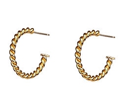 Twsted Hoops by JdL Jewellery