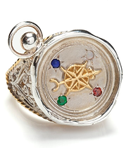 Love Compass Seal Ring