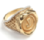 Signet Style Personalised Seal RIng