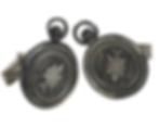 Compass Wax Seal Cufflinks