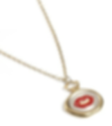 KISS Wax Seal Necklace