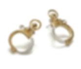 Mini Handcuff Earrings