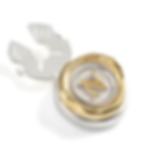 Mini A-Z Personalised Button Clip