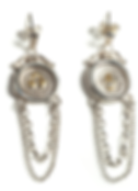 19th c. Mini Seal Chain Earrings.png